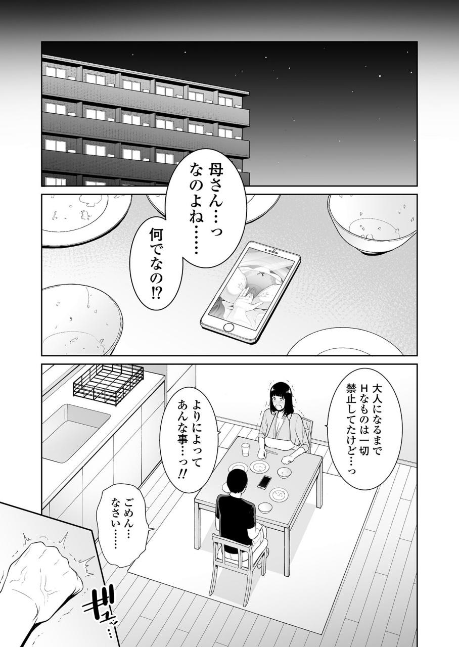 [三崎(gonza)] 息子に跨る日 ~母と息子のハメ撮り記録~ サンプル画像 08