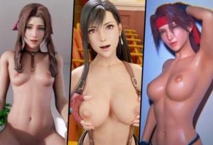 【FF7R】全世界の3Dアーティスト集結!?FF7リメイクの4K画質3DCGアニメ総集編!