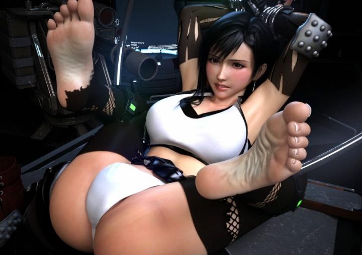 【足フェチ・美脚】ゲームキャラのえちえちな美脚にこだわったフェチ3D画像 Part1