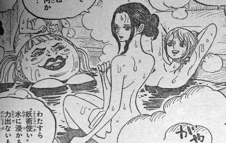 ワンピース 第931話予告「よじ登れ ルフィ決死の逃走劇!」 原作エロシーン 01