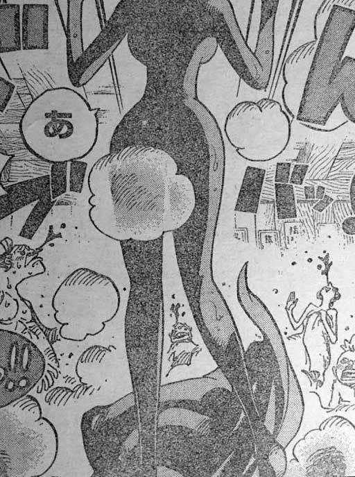 ワンピース 第931話予告「よじ登れ ルフィ決死の逃走劇!」 原作エロシーン 13