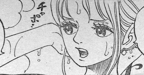 ワンピース 第931話予告「よじ登れ ルフィ決死の逃走劇!」 原作エロシーン 02