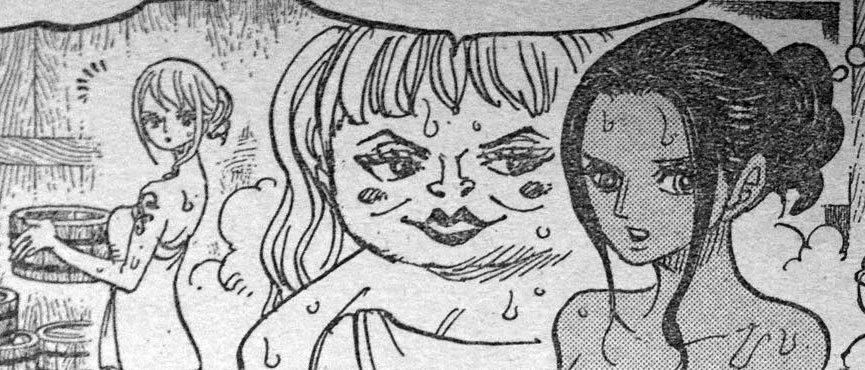 ワンピース 第931話予告「よじ登れ ルフィ決死の逃走劇!」 原作エロシーン 06