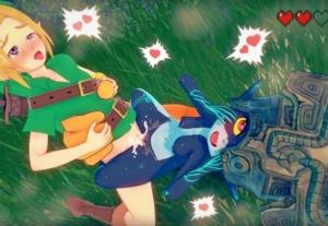 【ゼルダの伝説】ミドナがこどもリンクを襲ってショタチ○ポを逆レイプ!