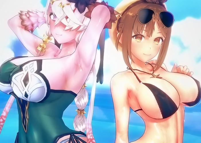 【ライザのアトリエ】ライザとリラのエッチなグラビア写真集!
