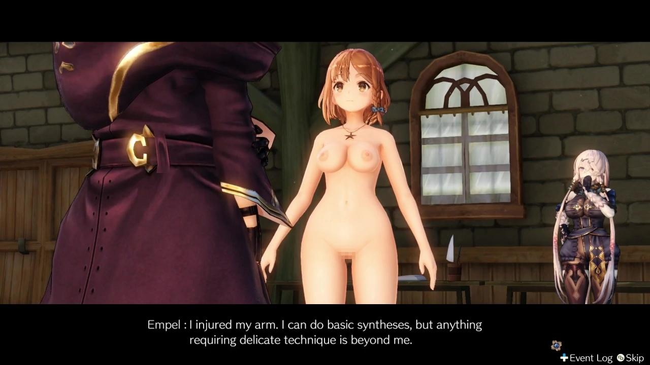 [ライザのアトリエ] ライザの全裸MOD Part2 3DCG 12