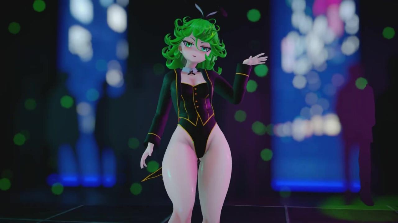 [ワンパンマン] T-ARA - Bunny Style   タツマキのバニーコス (ABF_MMD) 3DCG 02