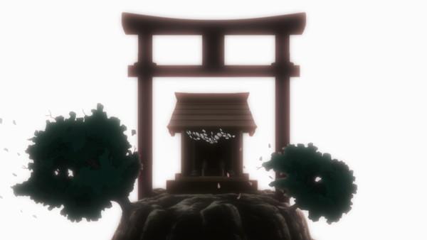 漆黒のシャガ THE ANIMATION 第三話「夜照物語(よるてらすものがたり)」 ディレクターズカット版 サンプルキャプチャー 12