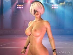 [AOG Project] 全裸ファイター360° サンプル画像 01