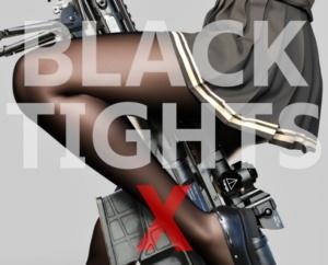 黒ストッキング好きに贈るフォトリアル3DCG集『BLACK TIGHTS X ーブラックタイツ クロスー』