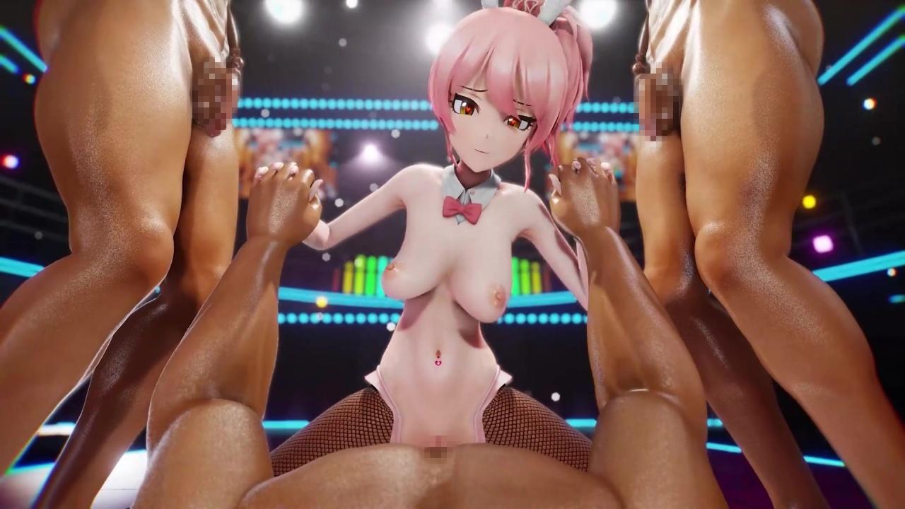 [MMD R-18] 美嘉ちゃんの裏営業! (アイドルマスター) 3DCG 13