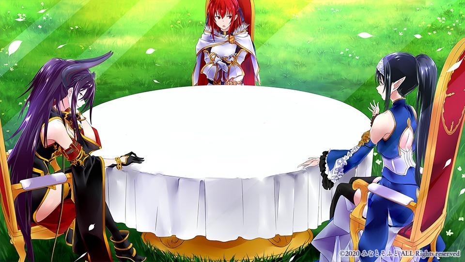 [みなとそふと] 我が姫君に栄冠を サンプルHCG 02