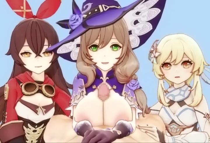 【原神】3DCGエロアニメ総集編(Genshin Impact)
