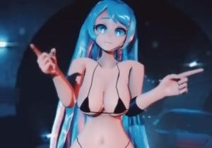 【ヒロアカ】ふかふかボディがえちえち過ぎる《波動ねじれ》ちゃんの3Dアニメ!柔らかお乳がぶるんぶるん揺れまくり!