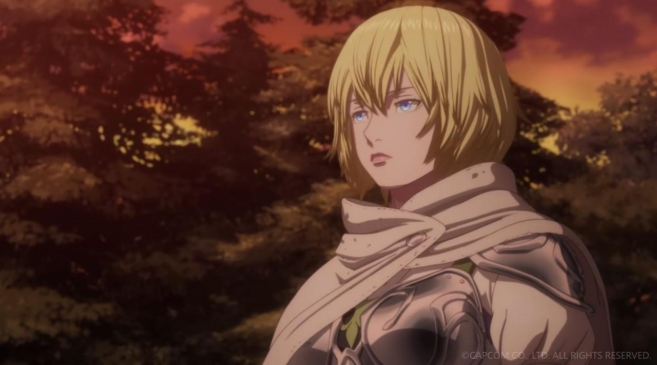 NETFLIXオリジナルアニメシリーズ「ドラゴンズドグマ」第三話 エロキャプ 01