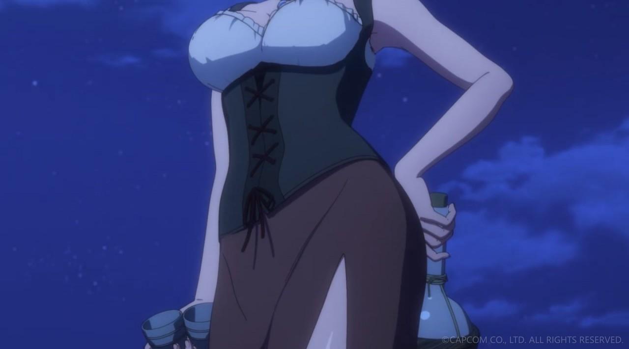 NETFLIXオリジナルアニメシリーズ「ドラゴンズドグマ」第三話 エロキャプ 15