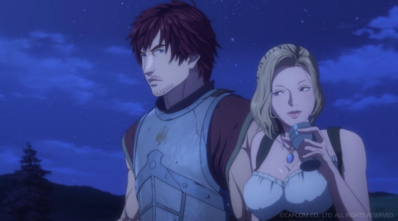 NETFLIXオリジナルアニメシリーズ「ドラゴンズドグマ」第三話 エロキャプ 17