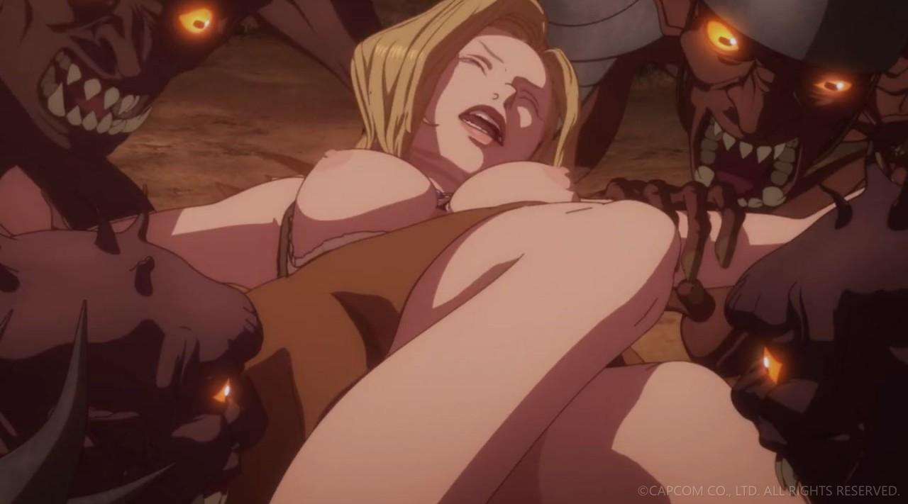 NETFLIXオリジナルアニメシリーズ「ドラゴンズドグマ」第三話 エロキャプ 06