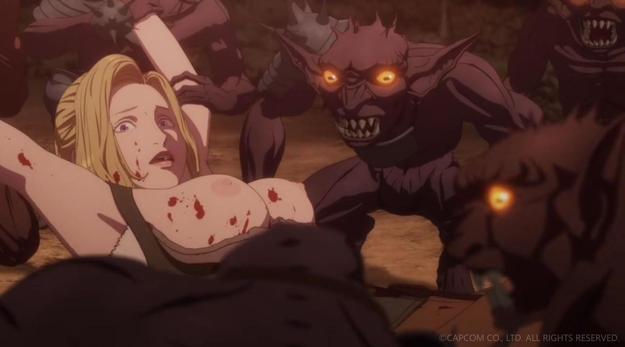 NETFLIXオリジナルアニメシリーズ「ドラゴンズドグマ」第三話 エロキャプ 08