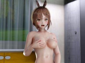 【ライザのアトリエ】ライザちゃんのあの巨乳でパイズリして貰う3Dアニメ!