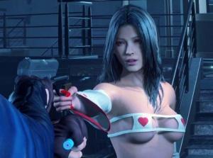 【バイオハザード RE:2】エイダ・ウォンさん、エロMODで痴女みたいな『巫女ビキニ』を着させられる…。