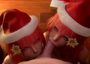 聖なる夜に精なる子種をクリスマスプレゼントするエロ画像まとめ Part2