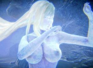【3D画像】FF7リメイクで状態異常《氷結&冷凍》を忠実に再現した結果wwwwww