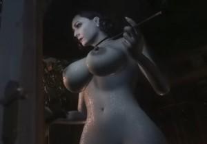 【朗報】新作ゲーム『バイオハザード8 ヴィレッジ』にドミトレスク夫人の全裸MODが登場!(プレイ動画あり)